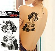 5pcs Tatuajes Adhesivos Otros Non Toxic / WaterproofMujer / Adulto / Juventud flash de tatuaje Los tatuajes temporales