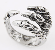 Men European Style Fashion Vintage Retro Skull Claw Band Ring