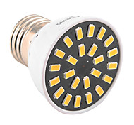 YWXLight High Bright 5W E26/E27 LED Spotlight 24 SMD 5733 400-500 lm Warm White / Cool White AC 110V/ AC 220V