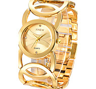 Rhinestone Relogio Feminino Golden Women Bracelet Watch Luxury Steel Lady  Dress Quartz Chinese Wrist Watch