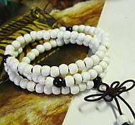 Bracelet Strand Bracelet / Wrap Bracelet Ceramic Circle Fashion Casual Jewelry Gift White1pc