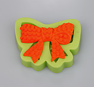 Silicone cake products bowknot shape for weeding cake decorating tools kitchen accessories Color Random