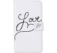 PU Leather Material LOVE Pattern Painting Pattern  Phone Cases for Sony Xperia X/XP/Z5/Z5 Mini