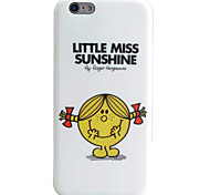 Wink Girl Pattern IMD Technology Phone Case TPU Material For iPhone 6s 6 Plus