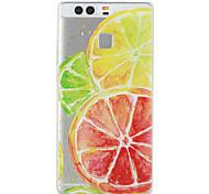 Lemon Pattern Material TPU Phone Case For Huawei P9 P9 Lite