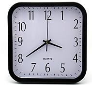 Modern/Contemporary / Casual Family Wall ClockRound Plastic 25*25*4 Indoor/Outdoor / Indoor / Outdoor Clock
