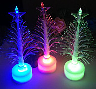 Led Fiber Optic Tree Christmas Tree Colorful Color Fiber Optic Christmas Tree Decoration Small Gift Perspective