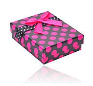 Jewelry Box Necklace Box Earring Box Small Butterfly Knot Jewelry Multi-purpose Box