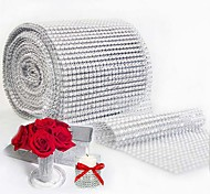 10yard 900cm Mesh Trim Bling Diamond Wrap Cake Roll tulle Crystal Ribbons Party Wedding Decoration event party supplies