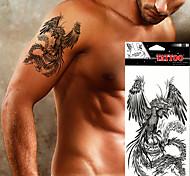 5pcs Tatuajes Adhesivos Series de Animal Non Toxic / WaterproofMujer / Hombre / Adulto / Juventud flash de tatuaje Los tatuajes temporales