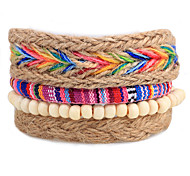 Unisex Fashion Jewelry Bohemia Style Handmade Adjustable Strand Loom Bracelet Casual/Daily Women Men Gift