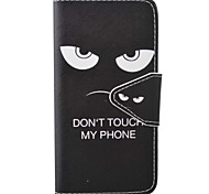 Per Custodia iPhone 7 / Custodia iPhone 6A portafoglio / Porta-carte di credito / Con supporto / Con chiusura magnetica / Decorazioni in