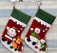 calcetines de Navidad suministros medias de Navidad en calcetines de Navidad del día de la Navidad Ornamentos calcetines de santa
