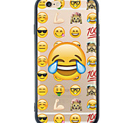 Transparent/Pattern Cartoon Expression Package TPU Soft Case For Apple iPhone 6s Plus/6 Plus/iPhone 6s/6/iPhone SE/5s/5