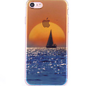 Per Custodia iPhone 7 / Custodia iPhone 7 Plus Fantasia/disegno Custodia Custodia posteriore Custodia Paesaggi Morbido TPU AppleiPhone 7