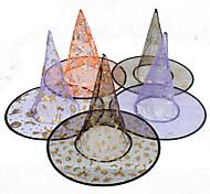 Easter Hat Halloween Single Wizard Hat Random Color Single Layer