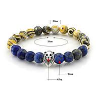 Bracelet Chain Bracelet Gem Round Fashion Daily Jewelry Gift Light Blue / Blue / Purple,1pc