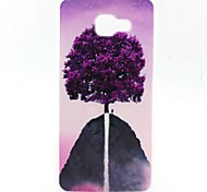 EFORCASE® Painted Purple Tree TPU Phone Case for Samsung Galaxy A7(2016) A5(2016) A5 A3(2016)