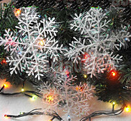 4pcs 10CM Christmas Hangings Drawing Snowflakes Christmas Gift Christmas Tree Decoration