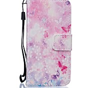 Butterfly PU Leather Wallet for Huawei P8Lite P9 P9Lite
