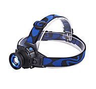 LED Long-range zoom Waterproof Headlight    Power Type Rechargeable