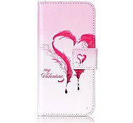 Per Custodia iPhone 7 / Custodia iPhone 6 Porta-carte di credito / Fantasia/disegno Custodia Integrale Custodia Piume Resistente