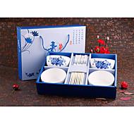 Керамика / Фарфор Столовые наборы 34*26*9 посуда  -  Высокое качество