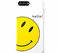 Smile Pattern High Quality  TPU Material Soft Phone Case For iPhone 7 7 Plus 6S 6Plus