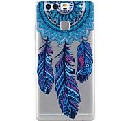 Campanula Pattern Material TPU Phone Case For Huawei P9 P9 Lite