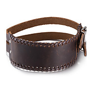 Bracelet Bangles Leather Halloween / Congratulations / Gift / Party / Daily / Casual / Sports Jewelry Gift Black / Brown,1pc