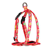 Dog Harness Adjustable/Retractable Animal Red / Green / Blue Nylon