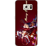 For Samsung Galaxy S7 S7 Edge Christmas Girl TPU Soft Case Cover S6 Edge Plus