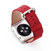 pailleté de luxe bling noël PU bande de montre en cuir pour montre de pomme 38 / 42mm iwatch sangle