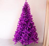 Pacote de Natal criptografia roxo 150 centímetros árvore de 1,5 m árvore de Natal