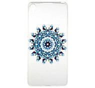 For Sony Xperia XA X Case Transparent Pattern Case Back Cover Case Flower Soft TPU for Sony Xperia X Sony Xperia XA Sony Xperia E5