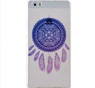 padrão campanula caso material de proteção TPU telefone para Huawei Huawei y5 honra ii 5a y6 ii p9 Lite p8 Lite