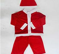 roupa de Papai Noel traje crianças trajes de natal mostrar 100-110cm