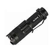 Eclairage Lampes Torches LED LED 200 Lumens 3 Mode Cree Q5 14500 / AA Faisceau Ajustable / Etanche / Taille Compacte / Petit