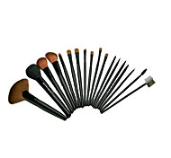 18 Makeup Brushes Set Nylon Portable Wood Face  G.R.C/ Send Package