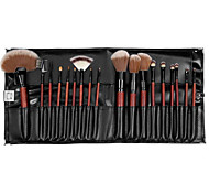 18 Makeup Brushes Set Others Portable Wood Face G.R.C
