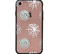 Para Diseños Funda Cubierta Trasera Funda Diseño Geométrico Dura Acrílico AppleiPhone 7 Plus / iPhone 7 / iPhone 6s Plus/6 Plus / iPhone