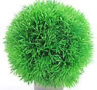 Artificial Plant Grass Ball Water Fish Tank Aquarium Decoration Green