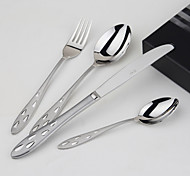 Acier inoxydable 304 Fourchette de table / Couteau de table / Petite cuillère / Cuillère à spécialité Cuillères / Fourchettes / Couteaux4