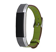 Luxury Genuine Leather Band Strap Bracelet for Fitbit Alta Tracker Wrist Band Strap