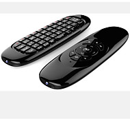 T10 2.4 G Double Remote Control Keyboard Mini Wireless Keyboard