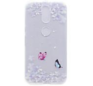 Dielianhua Pattern High Permeability TPU Material Phone Shell For Motorola G4 Plus X1
