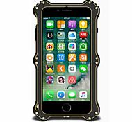 Para Agua / Polvo / prueba del choque Funda Cuerpo Entero Funda Un Color Dura Metal AppleiPhone 7 Plus / iPhone 7