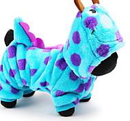 Собака Костюмы Толстовки Одежда для собак Очаровательный Косплей Носки детские Синий