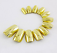 70Pcs Golden Nail Strips Fashion Atmosphere Safe Easy To Operate 1Set
