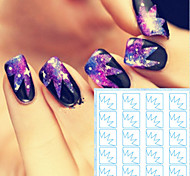 5PCS/SET  Nail Stickers Hollow-out Isolation Stickers